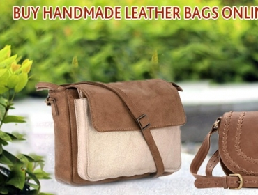 Buy Handmade Leather Bags Online in India