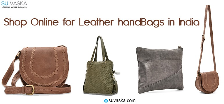 Shop Online for Leather Handbags in India