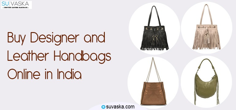 Buy Designer and Leather Handbags Online in India