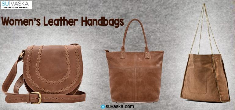 Women's Leather Handbags online Shopping