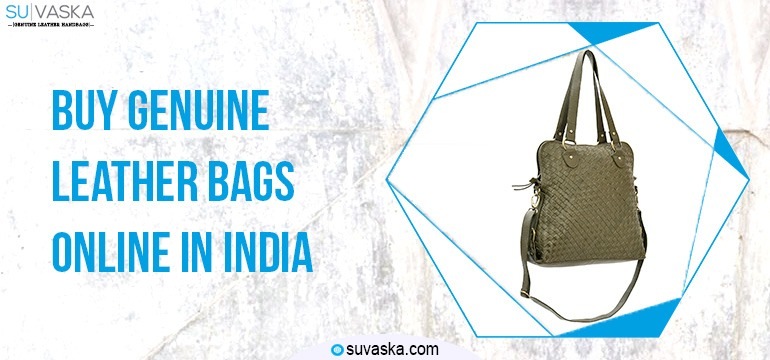 Buy Genuine Leather Handbags Online in India