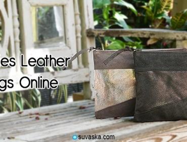 Buy Ladies Leather Handbags Online in India