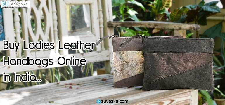 Buy Ladies Leather Handbags Online in India