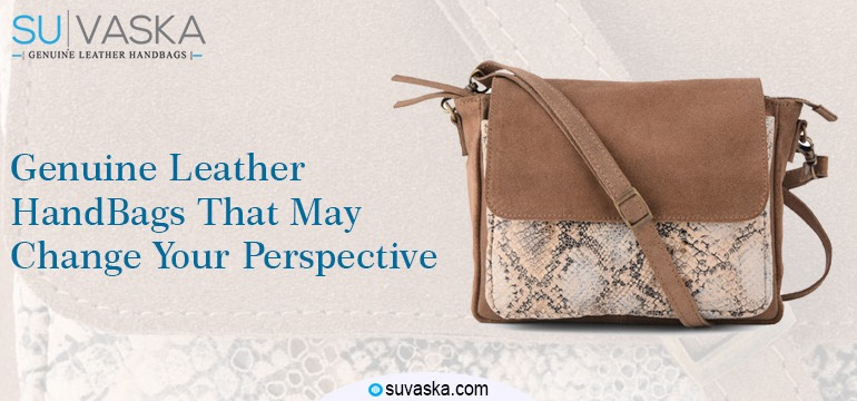 Genuine Leather HandBags That May Change Your Perspective